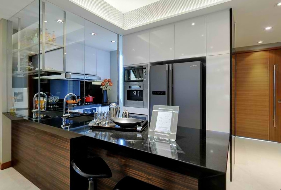 wet and dry kitchen design. Advertisements Kitchen Designs  punggol